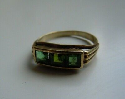 Faberge design Imperial Russian GOLD 56 RING  19th century