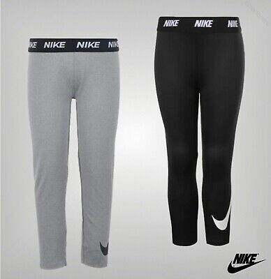 Girls Nike Full Leg Length Stretch Swoosh Leggings Sizes Age from 2 to 7 Yrs