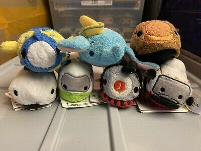 Disney Parks Attractions Mini Tsum Tsum Set
