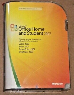 Microsoft Office Home and Student 2007 Brand new Sealed