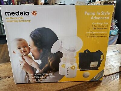 Medela Pump In Style Advanced Double Breast Pump opened to check everything. NEW