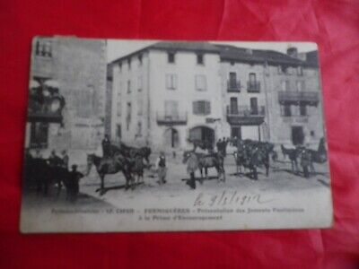 Le Capsir Formigueres  Cpa 1912 Juments Poulinieres Pyrennees Orientales