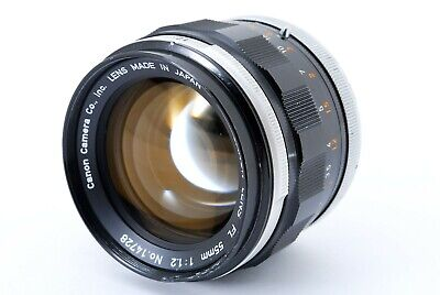 Canon FL 55mm f/1.2 MF Lens From Japan [ Excellent ]