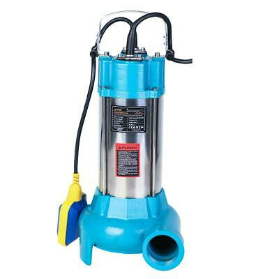 MERRY® 151614 Submersible Sewage Water Pump With Cutter Shredder 1100W