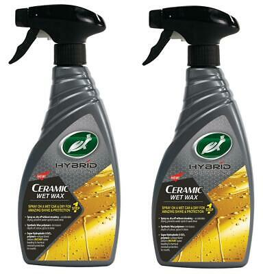 Turtle Wax 53339 Hybrid Solutions Ceramic Wet Wax Shine & Protect 2x500ml