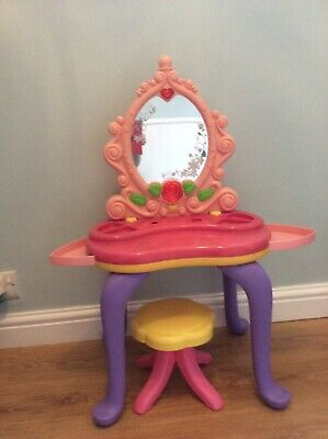 Girls Dressing table and stool used but in great condition.