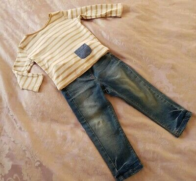 NEXT girls winter outfit Jeans Age 12-18 months, jacket Age 1year