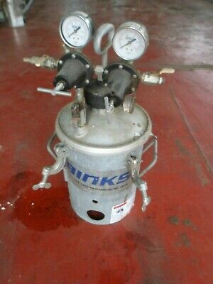 Binks Galvanized  Steel Pressure Pot # 4
