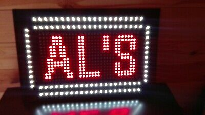 Large Led Custom Programmable  Scrolling Open Sign Business Shop Restaurant Cafe