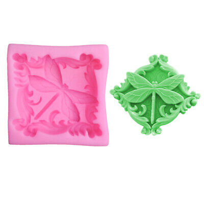 Vintage flowers soap mold candle silicone cake candy chocolate fondant molds  O
