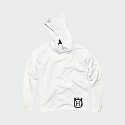 Husqvarna Inventor Hoodie Pullover weiss Enduro Motocross Lifestyle / SALE -20%
