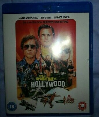 Once Upon A Time In Hollywood Blu Ray (2019, Quentin Tarantino, Brad Pitt)