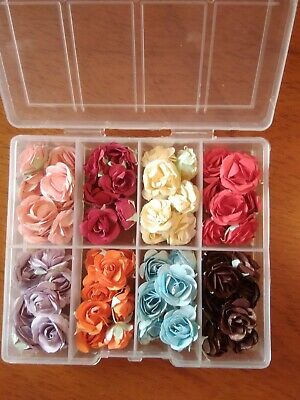 Box Full Of Handmade Paper Roses