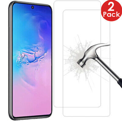 2X Tempered Glass Screen Protector For Samsung Galaxy A10 A20 A40 A50 A70 A20E