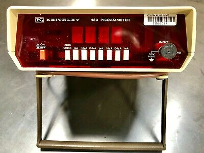 Keithley 480 picometer - used - working condition
