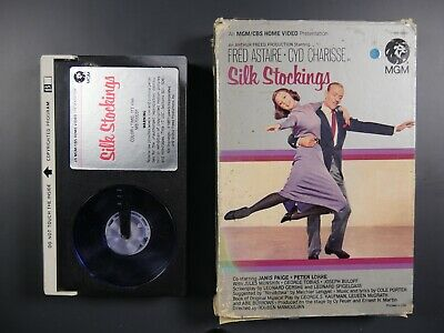 Silk Stockings (1957) - Fred Astaire - Betamax Movie (NOT VHS)