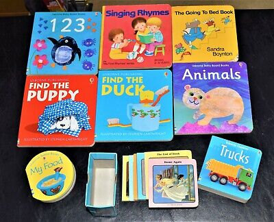 Lot of 21 BOARD BOOKS FOR CHILDREN/ TODDLERS/ BABIES/ PRESCHOOL & DAYCARE