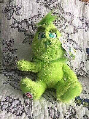 Build A Bear Baby Young Mini Grinch Who Stole Christmas Stuffed Plush SOLD OUT