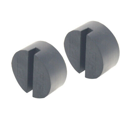 2 Pack Universal Jack Pad Disk for Floor Jack Pinch Weld Rail Adapter jackpad