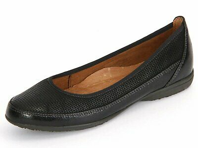 Details about Women's loafers Tamaris leather cuir touch it feel soft boots shoes lacquered