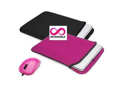 """Targus Reversible Laptop Sleeves and USB Mouse for 15"""" - 17"""" Laptops X 5"""
