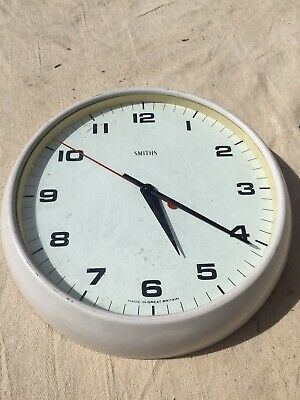 Vintage SMITHS School Wall Clock