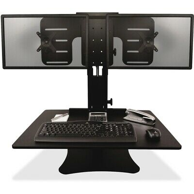 VICTOR TECH DC350 Standing Desk, Dual Monitor