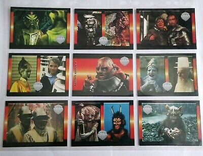Rare Doctor Who Trading Cards Series 4 A Roguse Gallery