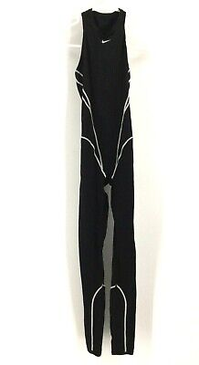 Nike - Women's Size 30 - Black Razor Back Swim Triathlon Full Body Suit