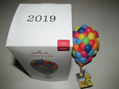 Hallmark Up Pixar House Balloons 10Th Ann Magic Ornament 2019 Disney Keepsake A