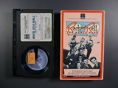 Rock and Roll: The Early Days (1984) - Betamax Movie (NOT VHS)