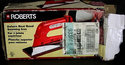 Roberts 10-282G-2 Deluxe Heat Bond Seaming Iron - Red