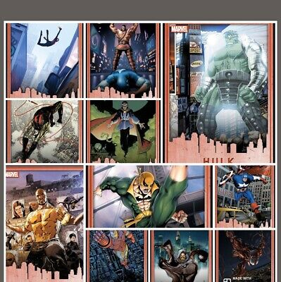 Topps Marvel Collect Digital Trading Cards - NYCC Comic Con Exclusive Full Set