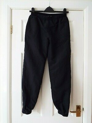 Girl's Genuine LA Gear Fully-Lined Tracksuit Bottoms in Black  Age 13 Years  VG