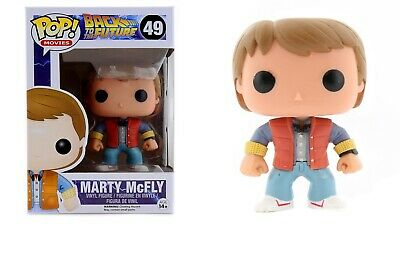 Funko Pop Movies: Back to the Future - Marty McFly Vinyl Figure #3400