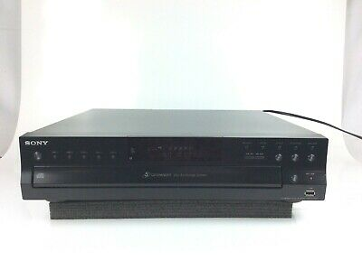 Sony CDP-CE500 CD Changer (Power and Disc reading tested)