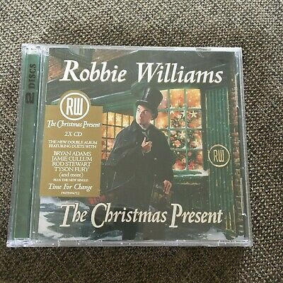 New, Wrapped Robbie Williams Cd. The Christmas Present Cd. 2019