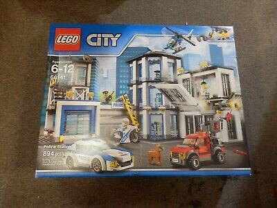"""Lego-City-""""Police Station""""-Set No.60141-Brand-New&Factory-Sealed  Free Shippng"""
