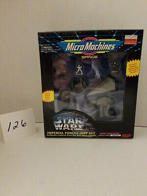 Star Wars Micro Machines Collector Set 1994 Galoob Imperial forces NIB