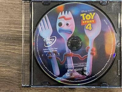 Toy Story 4 Disney 2019 DVD Only Never Been Used Ships In Slim Cd Case