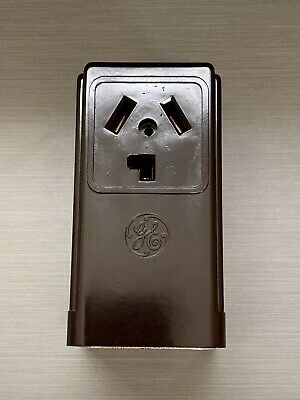 GE GENERAL ELECTRIC SURFACE RECEPTACLE 220 DRYER A/C 30A 250v GE 4130-1
