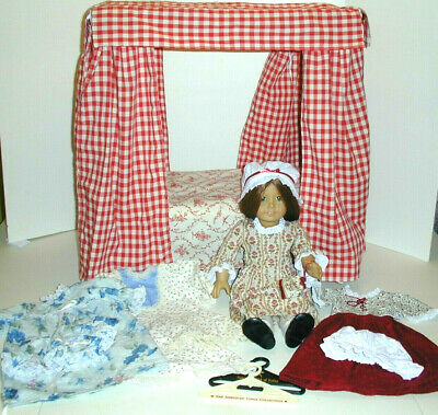 American Girl Doll FELICITY with Bed, Clothes & Hangers