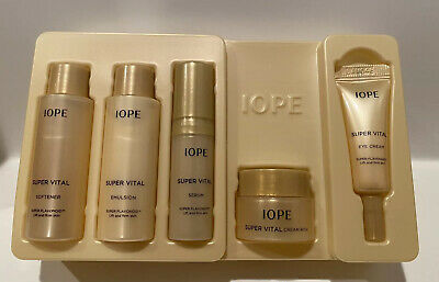 IOPE Super Vital Special GIFT RICH (5 items) - Korea Cosmetic