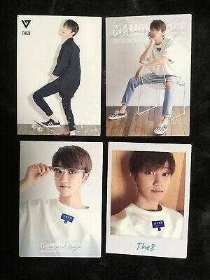 USA SELLER RARE The8 Seventeen OFFICIAL Diamond Edge Japan Minghao Photocard Set