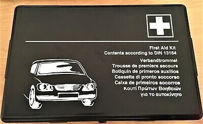 Rare & Authentic Mercedes Benz First Aid Kit – Hard Case