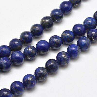5 Strands 6mm 8mm 10mm 12mm Natural Lapis Lazuli Round Bead Strands Loose Beads