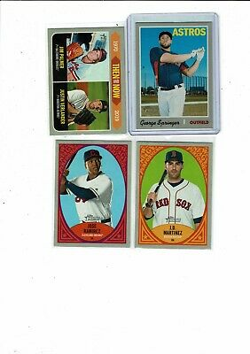 2019 Topps Heritage Inserts, Sp, Tn, Np Chrome Refractors, You Pick