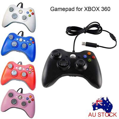 Wired Game Controller Gamepad Joystick for Microsoft XBOX 360 Slim Windows PC