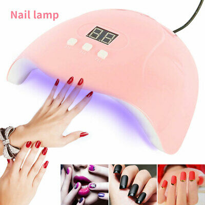 Nail Dryer LED Lamp UV Light for Nails Polish Gel Machine Electric Manicure 54W