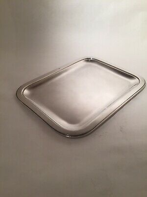 Sterling Silver Tray - Cristofle Card Tray